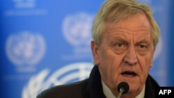 Nicholas Haysom, the UN's special representative for Afghanistan (file photo)