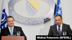 Ivica Dačić i Igor Crnadak