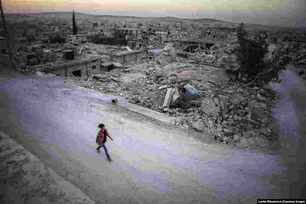 Kobani is now a city of ghosts. There are no lights after sunset.