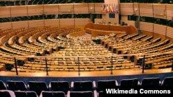 Зал заседаний Европарламента, Брюссель, 24 мая 2014 года.