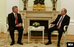 Георге Иванов и Владимир Путин, май 2017 года