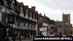 Stratford. Shakespeare'in kəndi