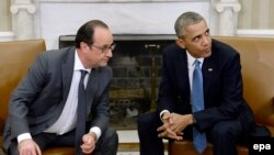 Francois Hollande və Barack Obama
