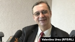 Iulian Chifu, fost consilier prezidențial, în studioul Europei Libere, iunie 2019