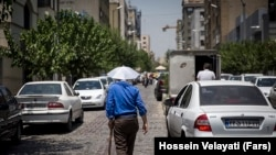 Summer heatwave in Tehran. File photo
