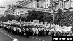 Шэсьце БНФ у другую гадавіну Дэклярацыі аб дзяржаўным сувэрэнітэце, 27 ліпеня 1992