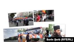 O zi de manifestații, București 9 iunie 2018