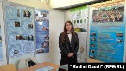 Выставка, посвященная русскому языку, в городе Душанбе