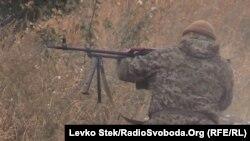 Боевые действия в районе Дебальцево. 21 сентября 2014 года.
