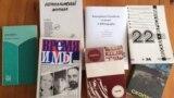 Русскоязычные журналы Израиля (фото: Иван Толстой)