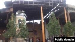 Мечеть Ходжа Нисбатдор в Самарканде. Фото взято с личного блога журналиста Ташпулата Рахматуллаева.