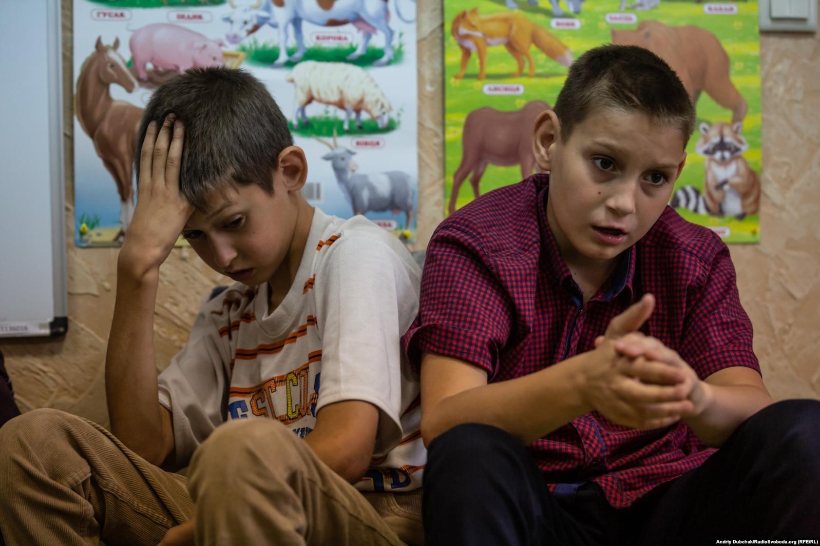 """Центр реабилитации детей """"Лелека"""" в Попасной"""