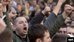 Proteste anticomuniste, aprilie 2009