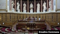 France - The Senate, upper house of the French parliament.