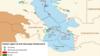 کاهش ۱٫۳ متری عمق آب دریای خزر طی ۲۰ سال