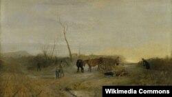 Уільям Тэрнэр, «Марозная раніца» (1813).