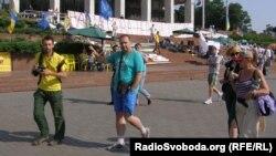 Протест перед Українським домом, архівне фото