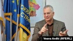 Dragan Šutanovac, predsjednik Demokratske stranke