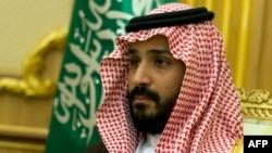 Міністар абароны Савудаўскай Арабіі віцэ-кронпрынц Мухамад бін Салман