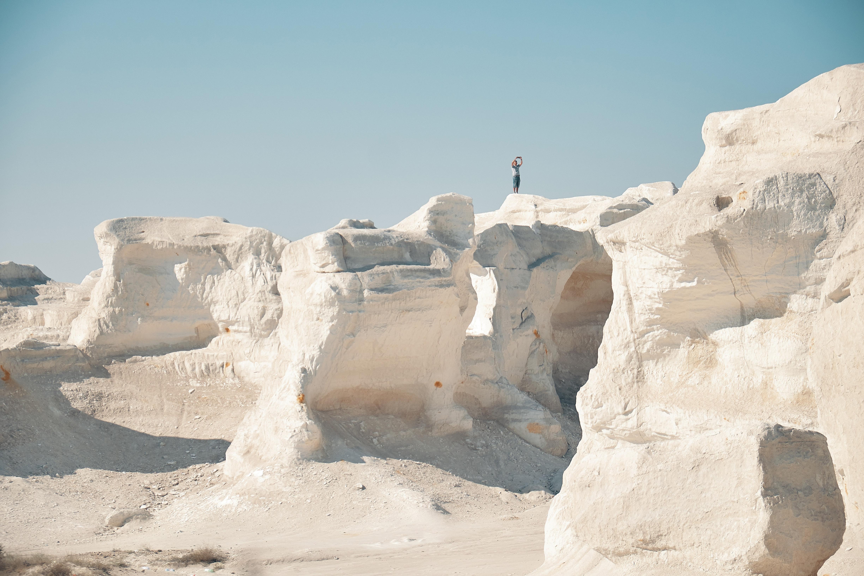 Этот необычный пейзаж, над которым природа «работала» миллионы лет, – казахстанская достопримечательность?