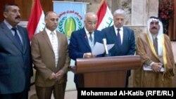 رئيس لجنة متابعة مطالب المتظاهرين في نينوى جبر العبدربة يتحدث في الموصل