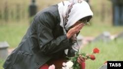 На Богородском кладбище под Москвой похоронены 226 российских военнослужащих, погибших в Чечне.