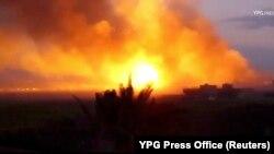 به گفته تلویزیون دولتی سوریه، انفجار در منطقه نظامی «مشروع دمر» روی داده است - عکس از آرشیو