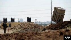 یک دسته از موشکهای سامکانه «گنبد آهنین» اسرائیل