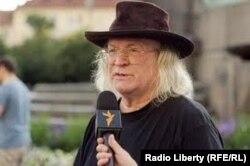 Іван Мартін Їроус дає інтерв'ю Радіо Свобода. Архівне фото.