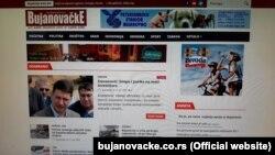 Naslovna strana portala Bujanovačke