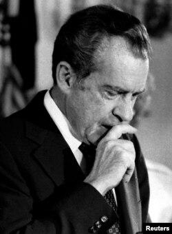 Ричард Никсон после отставки