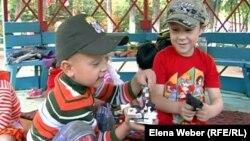 Дети в одном из детских садов Темиртау.
