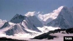 Планината Памир во Таџикистан