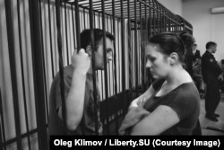Александр и Ванда Оршулевичи на суде по мере пресечения 29 мая 2017 г.