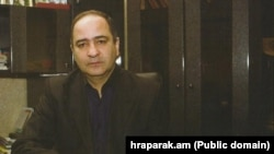 Armenia -- Fugutive businessman Ashot Sukiasian. Courtesy photo by Hraparak.am