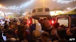 Hitna pomoć na trgu Tahrir nakon napada na demonstrante