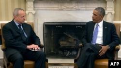 أوباما مع الجنرال آلن في البيت الأبيض - 16 أيلول 2014