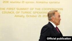Нурсултан Назарбаев. 21.10.2011.
