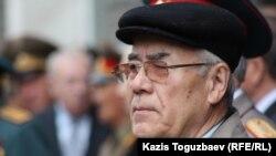 Закаш Камалиденов, бывший председатель КГБ Казахской ССР. Алматы, 5 апреля 2012 года.