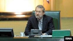 رییس مجلس ایران میگوید که موقعیت حزبالله در میان مسلمانان «عامل نگرانی غرب» شده آن را در فهرست تروریستها قرار دهند.