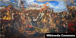 """Ян Матейко. """"Венская битва 1683 года"""" (1883)"""