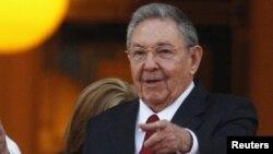 Претседателот на Куба Раул Кастро.