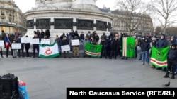 Парижехь Дохиев а, Усманов а дIа ма ло аьлла, хIоттийна митинг