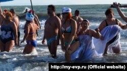 Заплив «моржів» у Євпаторії, 2018 рік