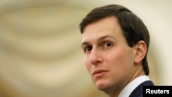 U.S. President Donald Trump's son-in-law and senior adviser, Jared Kushner