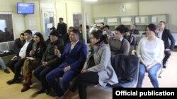 Встреча представителей Посольства Кыргызстана с мигрантами.