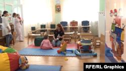 Бріджит у дитячому будинку в Запоріжжі