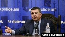 Ոստիկանապետ Վլադիմիր Գասպարյան, արխիվ