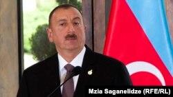 Президентов Азербайджана Ильхам Алиев, 2014.