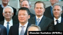 The adviser suggested that the president's son-in-law, Timur Kulibaev, seen next to the president at a Foreign Investors Council meeting in Astana in May, would lead Kazakhstan if President Nursultan Nazarbaev had to step down for any reason.